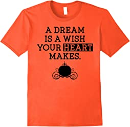 Disney Cinderella Dream Quote Carriage Graphic T-Shirt