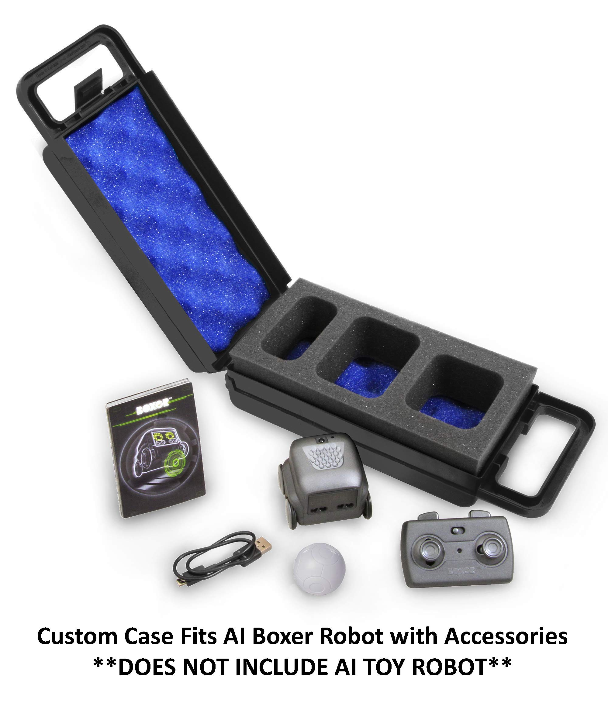 CASEMATIX Blue Toy Case Compatible with Boxer Robot and Boxer AI Interactive Toy Accessories - Includes CASE ONLY by CASEMATIX (Image #2)
