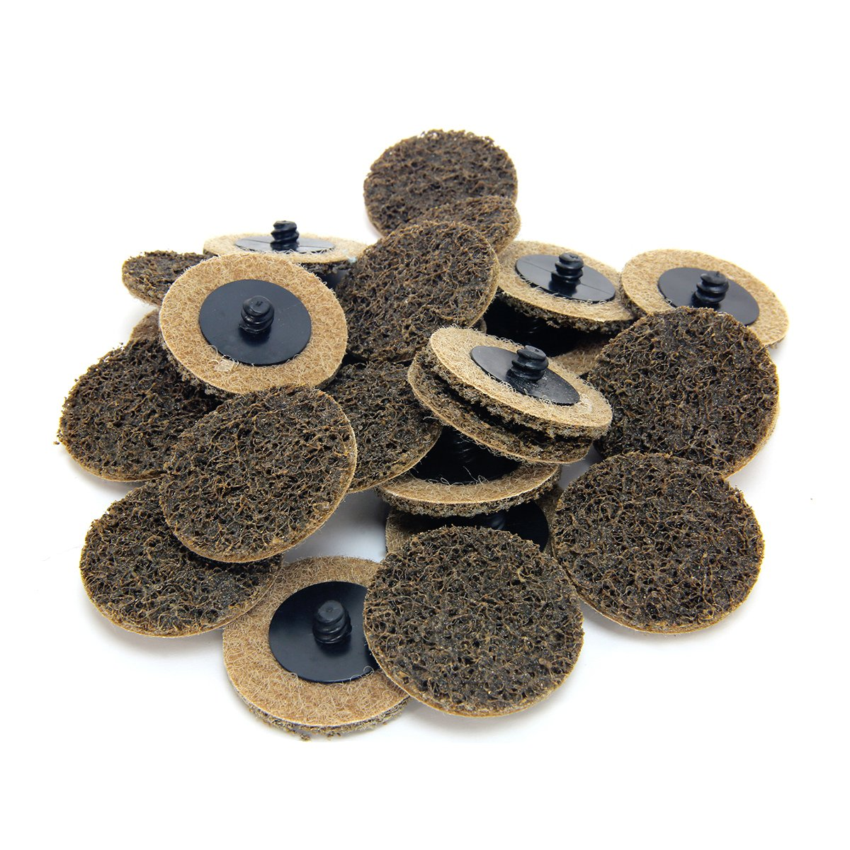 2'' Coar Grit Roloc Cleaning Roll Lock Sanding Disc 25pcs