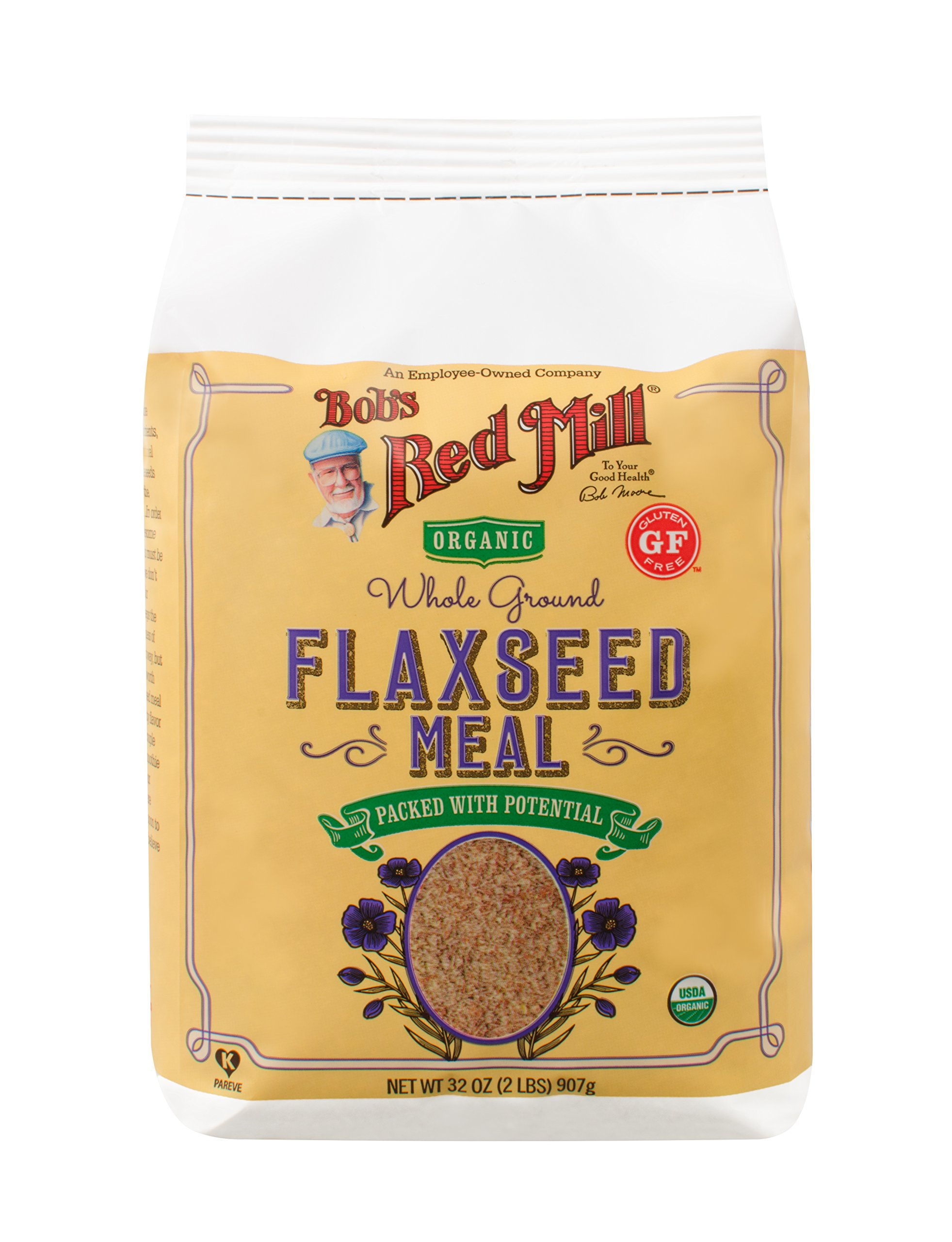 Bob's Red Mill Organic Brown Flaxseed Meal, 32 Ounce (Pack of 4) (Package May Vary) by Bob's Red Mill (Image #7)