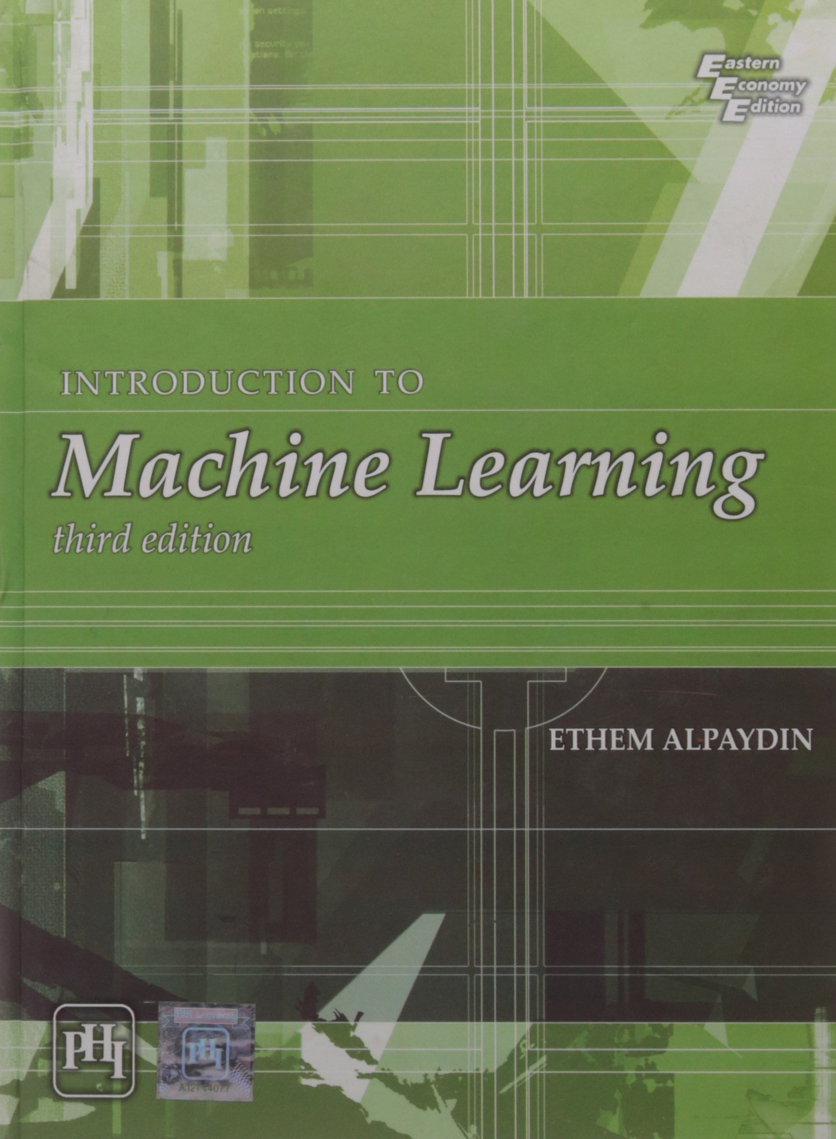 Download Introduction To Machine Learning 3Rd Edition pdf epub