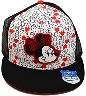 9c5011c4352 Amazon.com  Vans Disney Black Minnie Mouse Trucker Cap  Clothing