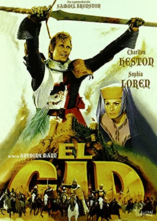 El Cid (Edición especial 25 aniversario) [DVD]: Amazon.es: CHARLTON HESTON, SOFIA LOREN, RALF VALLONE, ANTHONY MANN, CHARLTON HESTON, SOFIA LOREN: Cine y Series TV