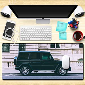 CJIUDI Mouse Pad/Large Mouse Pad/Gaming Gamer Mousepad Off-Road Vehicle Table Mat - A Keyboard and Mouse Laptop Mat,Computer Mause Pad,Desk Mat Big Size,for Games, Office Working