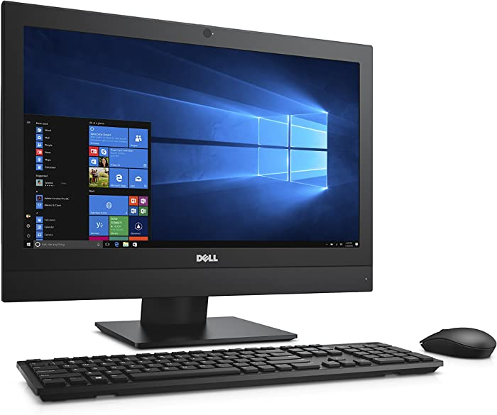 Dell CW7VX OptiPlex 5250 All in One Desktop Computer, Intel Core i5-7500, 4GB DDR4, 500GB Hard Drive, Windows 10 Pro