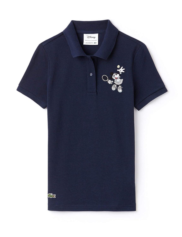 82b31224 Lacoste Women's Disney Minnie Polo T-Shirt Navy in Size EU 36 / S at Amazon  Women's Clothing store: