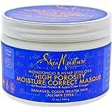 Shea Moisture High Porosity Moisture Correct Masque, 12 Ounce
