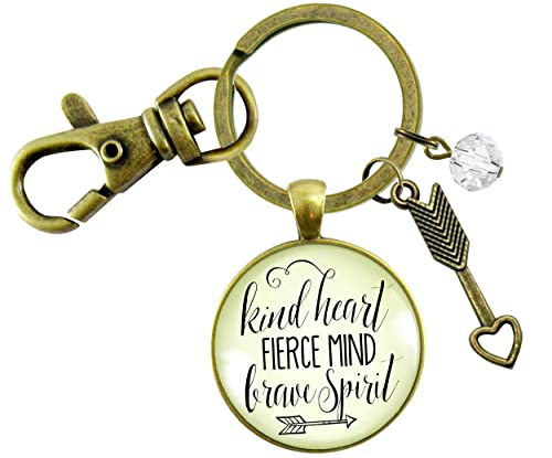 Positive Keychain Circle Keychain Kind Heart Keychain Self love Keychain Motivational Keychain Acrylic Keychain Turquoise Keychain