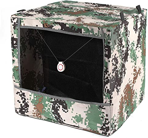 Caja plegable de camuflaje para tiro con tirachinas, para reciclar municiones, para práctica de caza de catapulta: Amazon.es: Deportes y aire libre