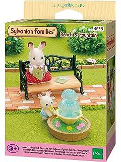 Amazon.es: Sylvanian Families - 4507 - Set mesa y sillas de jardín: Juguetes y juegos
