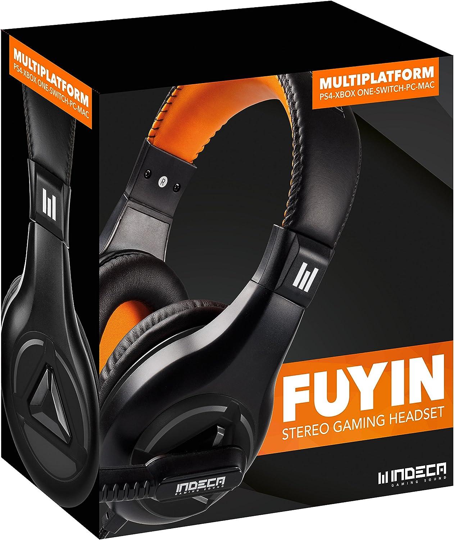 Indeca - Fuyin Auriculares Casco Multiplataforma Sound (PS4)