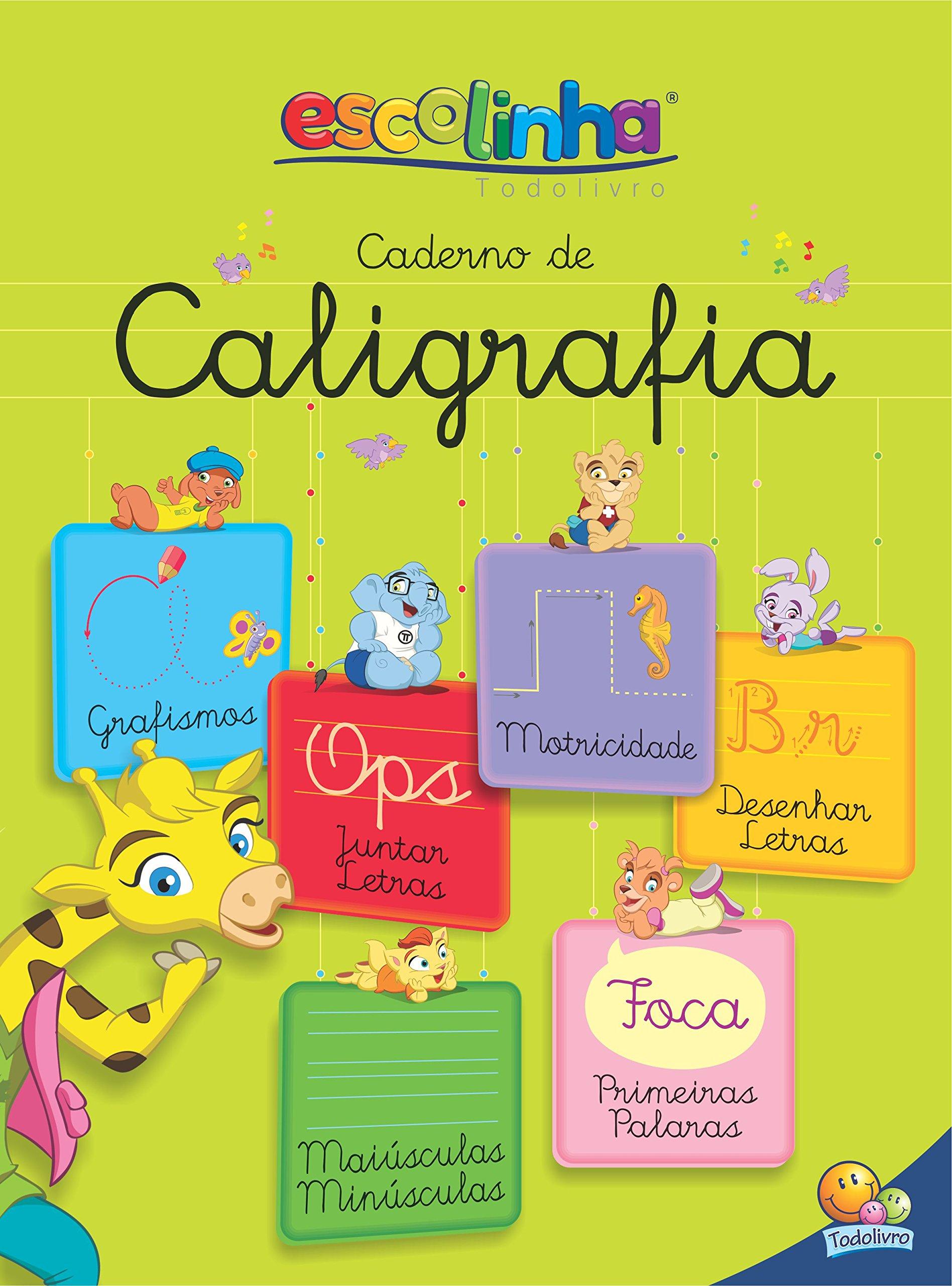 Caderno De Caligrafia Todolivro 9788537634523 Amazon Com Books