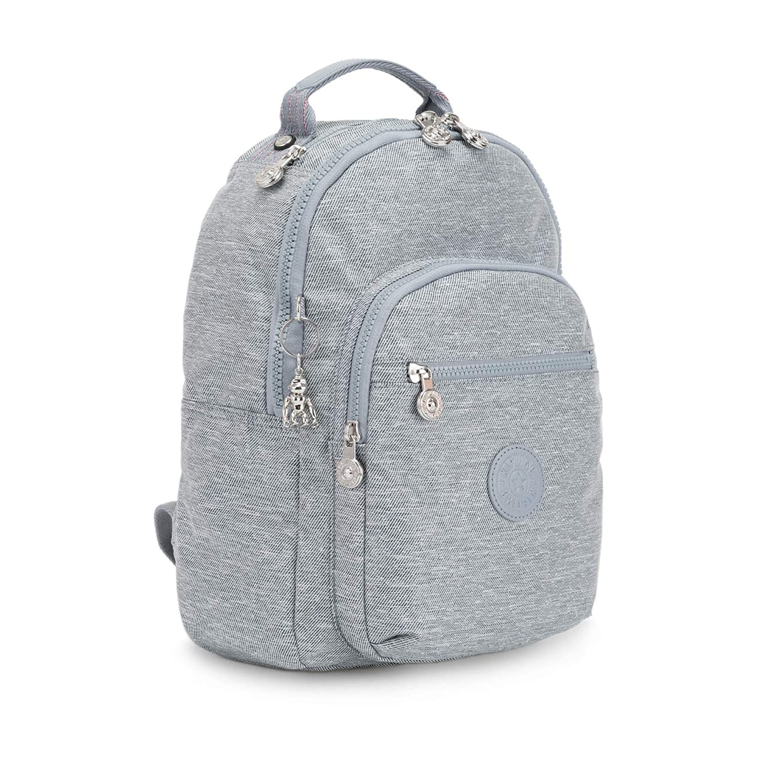 Kipling Clas Seoul S Backpack in Cool Denim