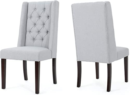 Christopher Knight Home Blythe Tufted Fabric Dining Chair