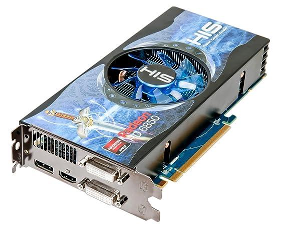 HIS H685FN1GD Radeon HD6850 1GB GDDR5 - Tarjeta gráfica ...