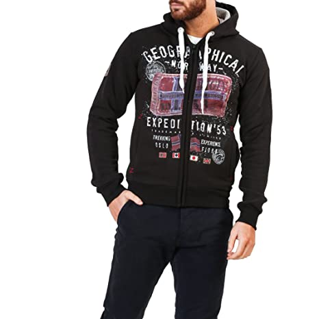 Geographical Norway Filliam_man Sudaderas Hombre Negro S