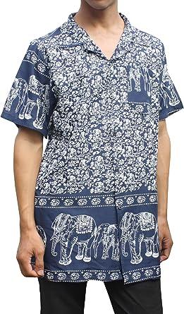 Full Funk Camisa Hawaiana de rayón de Viscosa Liviana y Fresca para Hombre o Mujer con Impresiones atrevidas: Amazon.es: Ropa y accesorios