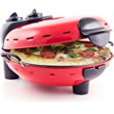 Pizza Maker - Authentic Italian Stonebake Pizza Oven with Viewing Window - Perfect for Homemade Pizza