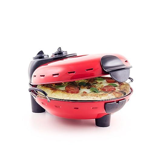 Nueva Máquina para hacer Pizzas Roja - Auténtico Horno de Piedra ...