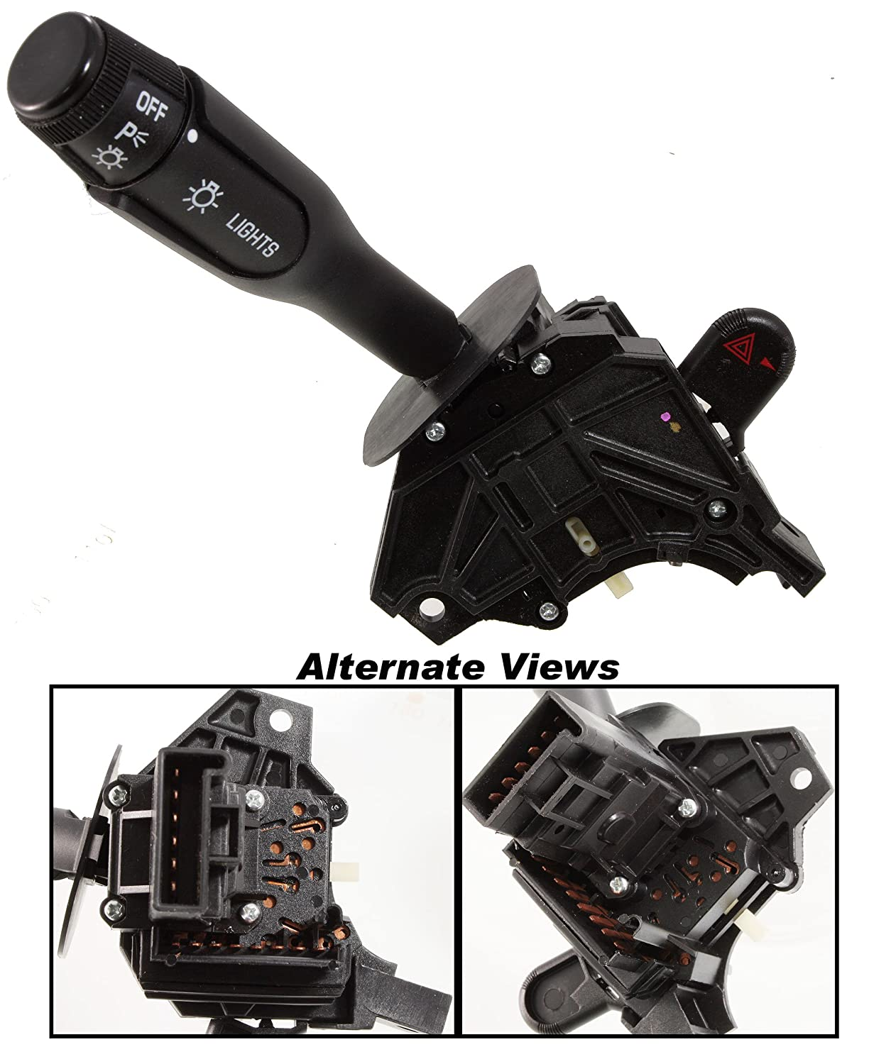 APDTY 1995988 Multifunction Switch Fits 1994-1995 Olds Achieva Without Cruise 1994-1995 Pontiac Grand Am Without Cruise Control Includes Turn Signal Hazard Headlight Headlamp High Low Beam Control