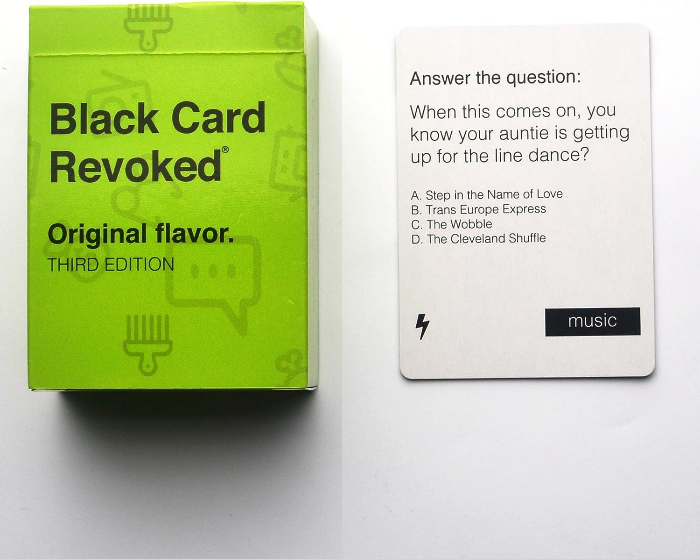 Black Card Revoked 3 - Sabor Original: Amazon.es: Juguetes y juegos