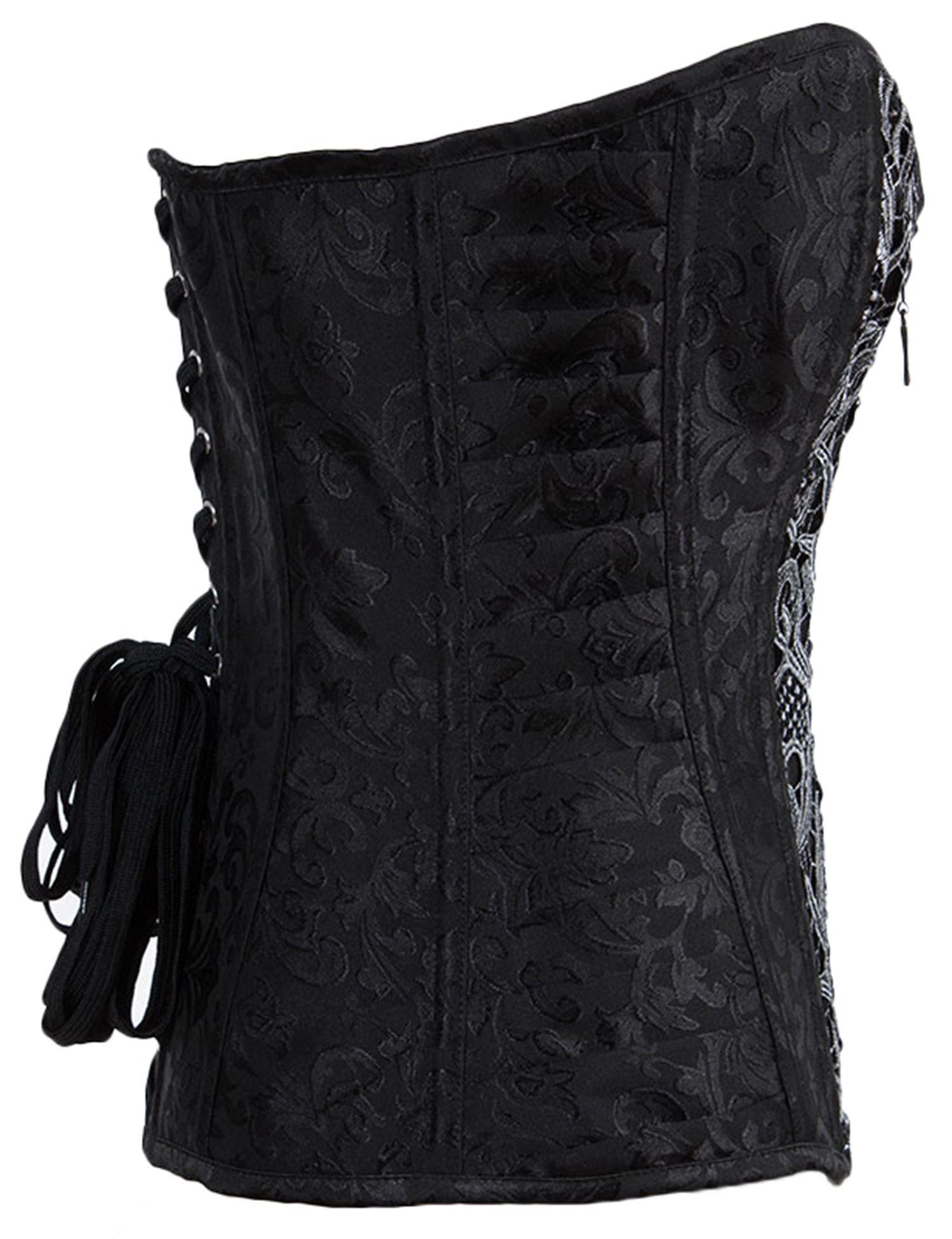 Alivila.Y Fashion Womens Sexy Steampunk Gothic Steel Boned Vintage Corset 5