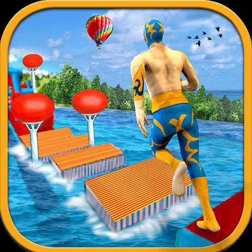 Real Stuntman Water Run Wipeout Free Games 2018 - Edge Parka