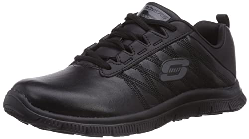Skechers Womens Flex Appeal - Pure Tone Black Sneaker 9.5 B ...