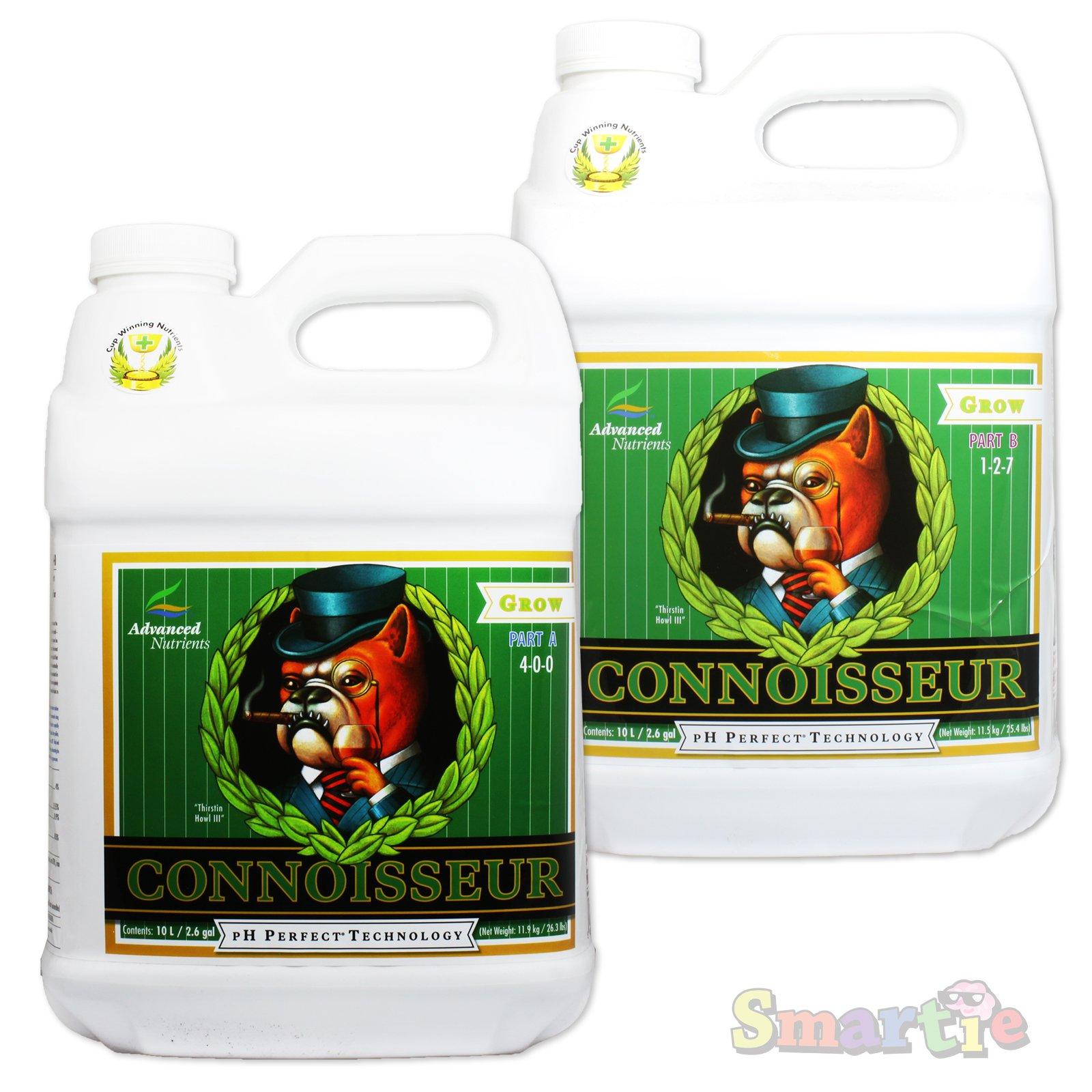 Advanced Nutrients pH Perfect Connoisseur Grow 2 Part A & B 10L Liter Bundle by Advanced Nutrients