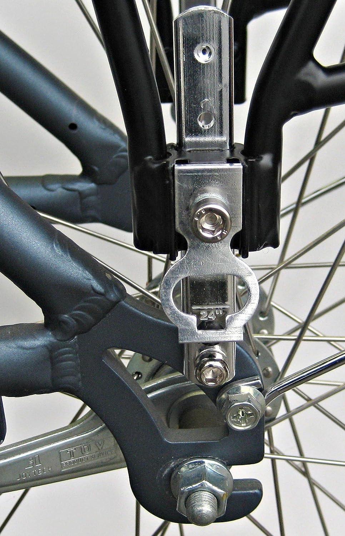 Amazon.com: Bike Rear Rack, 3 pierna Bike rack trasera de ...