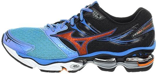 234540d9dc Mizuno Wave Creation 14 - Zapatillas de Running de sintético para Mujer Red/ Black/Yellow: Amazon.es: Zapatos y complementos