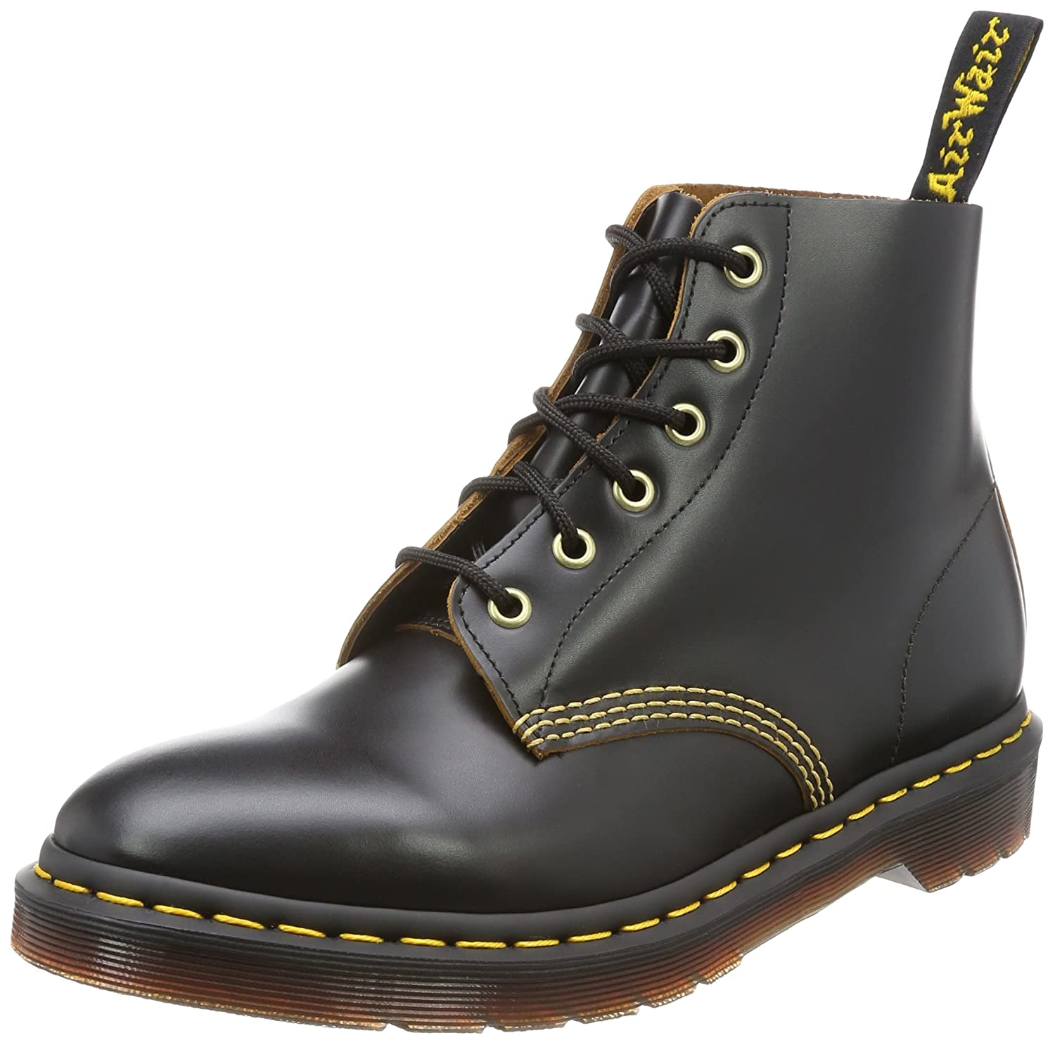 59bd854ad29 Dr.Martens Mens 101 Arc 6 Eyelet Leather Boots