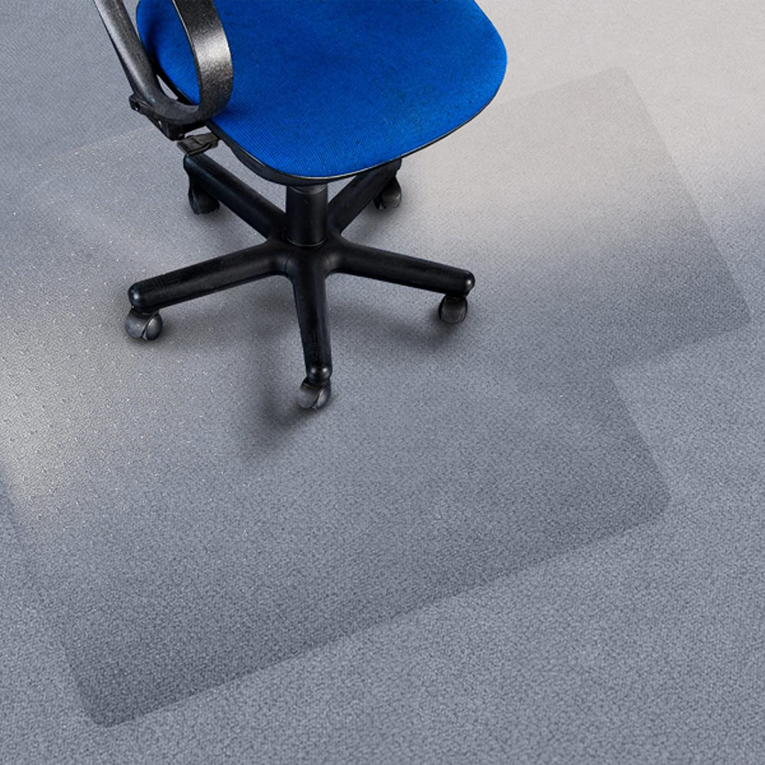 office marshal premium chair mat with lip 36 x 48 carpet floor protection 100 pure