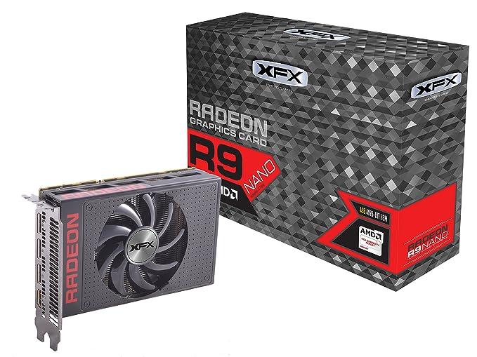 XFX Radeon R9 Nano AMD Radeon R9 Nano 4GB - Tarjeta gráfica ...