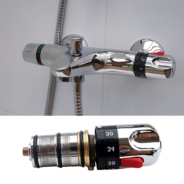 Válvula termostática huntgold kit.unit grifo mezclador de baño: Amazon.es: Hogar