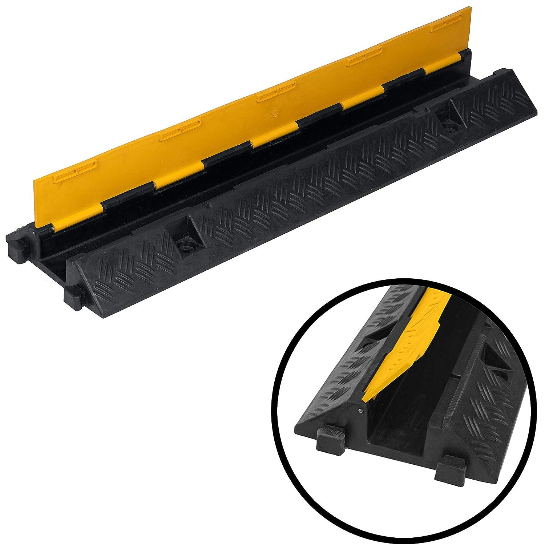 Kabelbr/ücke 1-Kanal /Überfahrschutz Kabelkanal Br/ücke Rampe Protector Pkw/&LKW