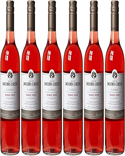 Jacobs Creek Classic Shiraz Rose Wine, 75 cl - Case of 6