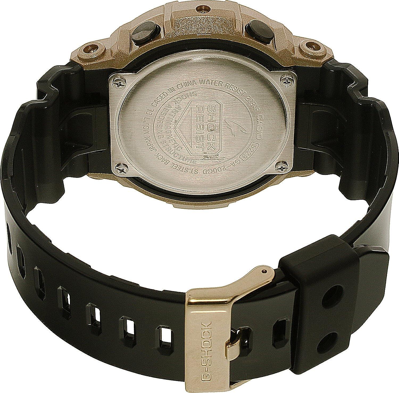 Casio montre homme G Shock chronographe GA 200GD 9B2ER  4qZtm