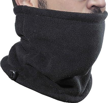 Polar Fleece Neck Warmer Gaiter Ski Mask Winter Scarf for Women Men Cold Weather