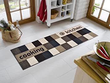 sehr hochwertiger küchenläufer größe ca. 60 x 180 cm / küchenmatte ... - Teppiche Für Die Küche