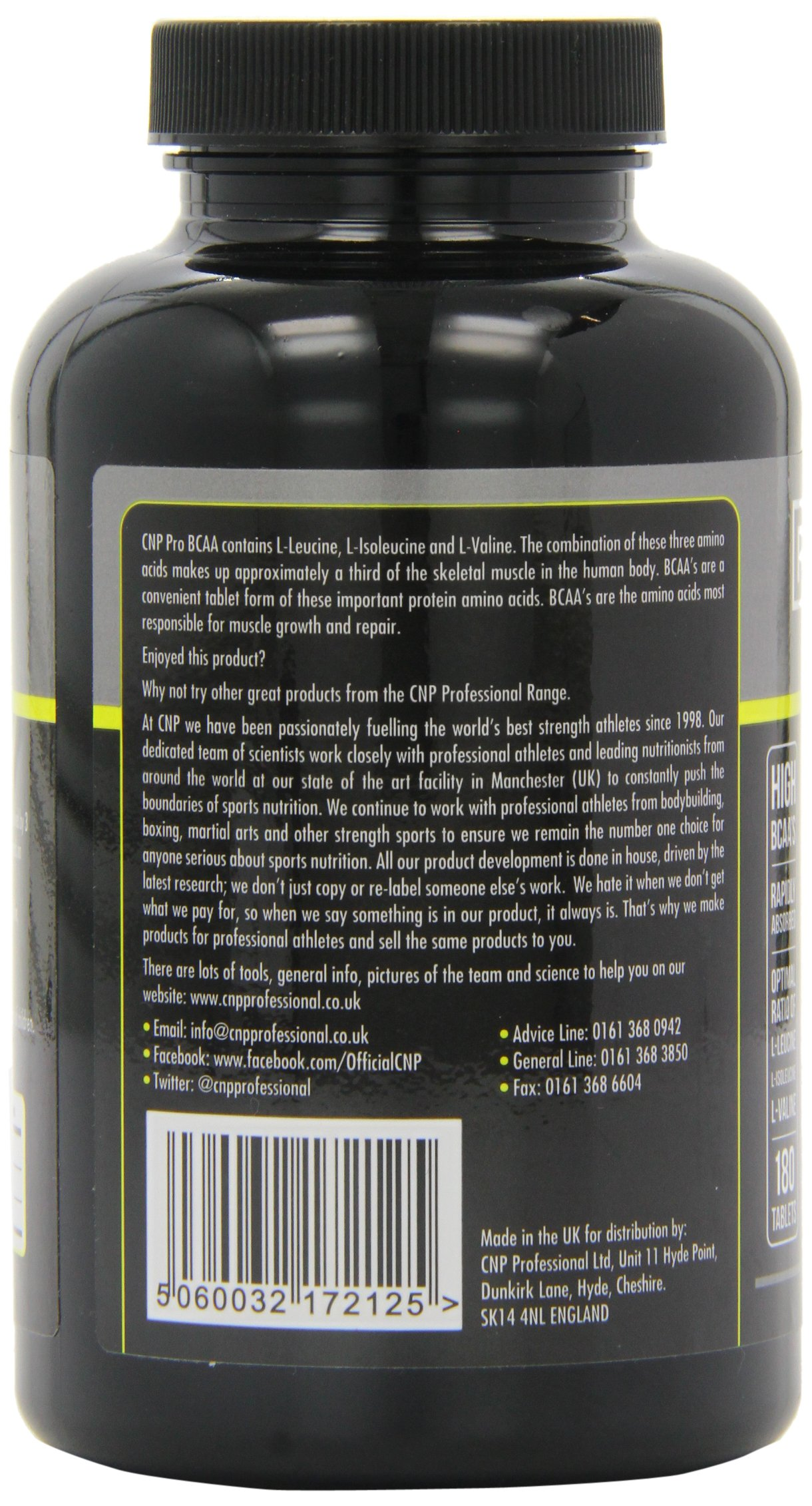 CNP Pro BCAA 180 tablet by CNP (Image #6)