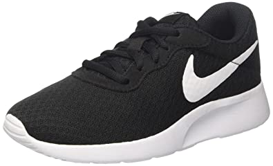 Nike Womens Wmns Tanjun, Black/White, 5 US