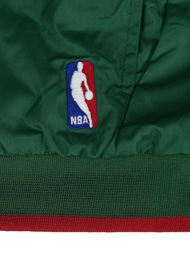 4644801b524f Amazon.com   adidas Milwaukee Bucks NBA Youth On Court Reversible Jacket