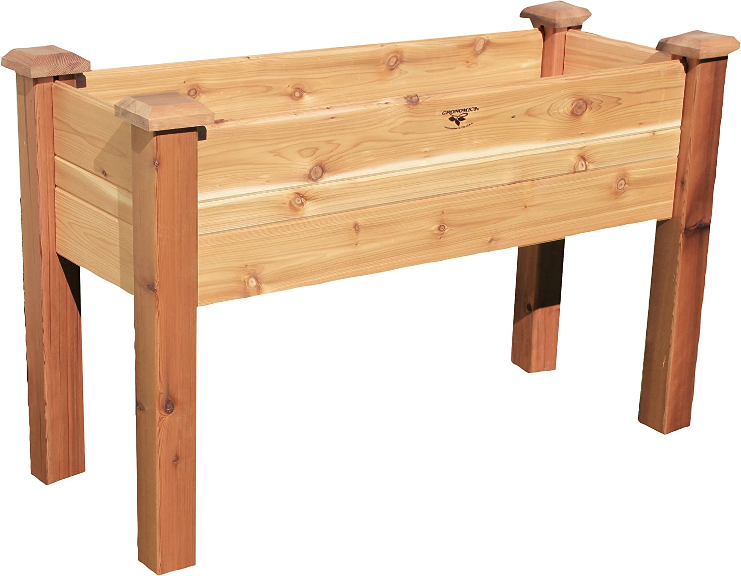 Gronomics EGB 18-48 10-Inch Deep Elevated Garden Bed, 18 by 48 by 32-Inch