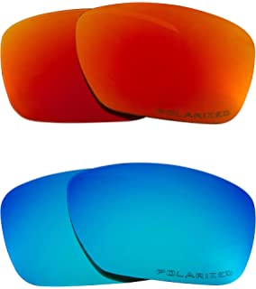 60d1926d8b1 TINCAN Replacement Lenses Polarized Blue   Red by SEEK fits OAKLEY  Sunglasses