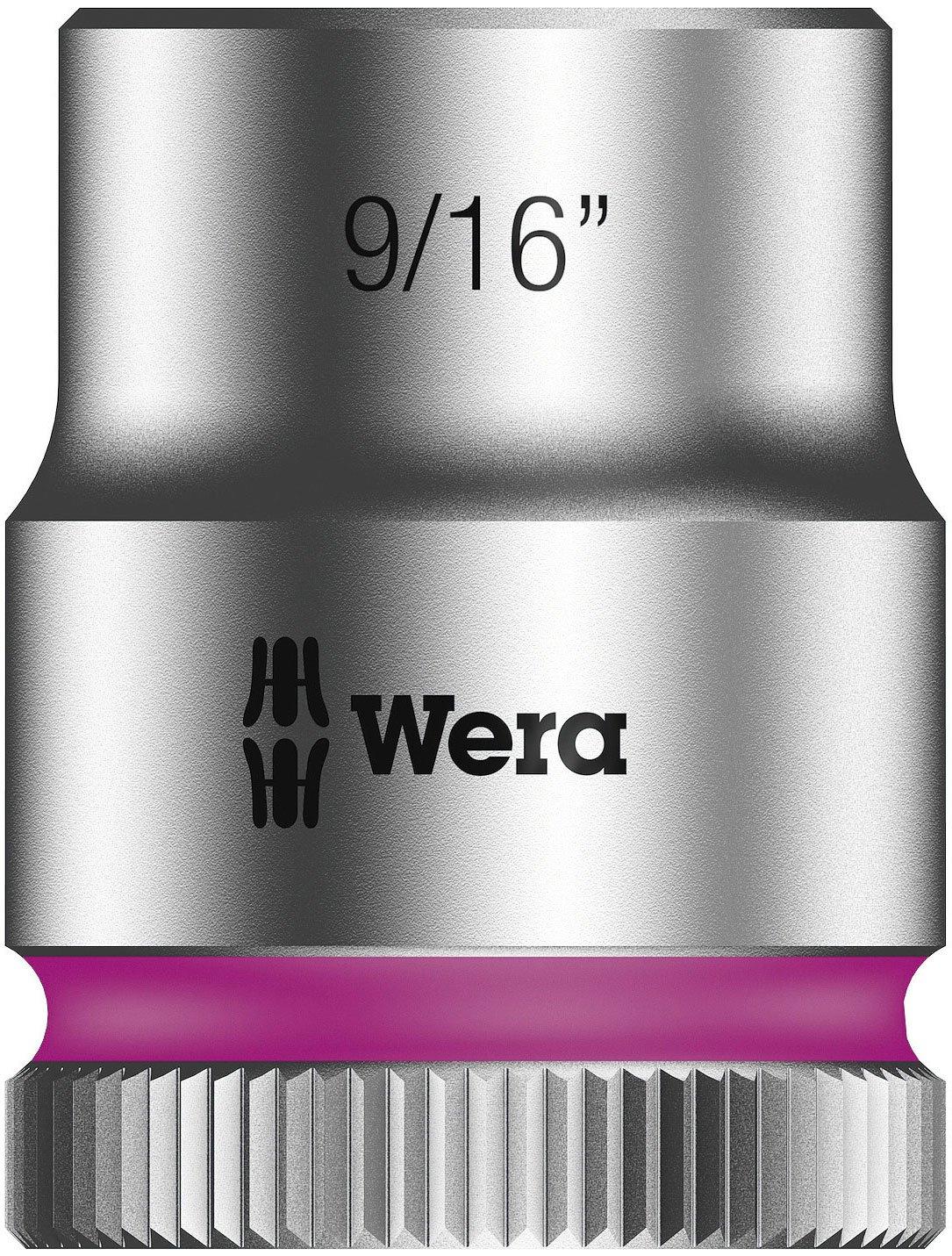 Wera Zyklop 8790 HMB 3//8 Socket Hex head 9//16 x Length 29mm Hex head 9//16 x Length 29mm Wera Tools 05003575001