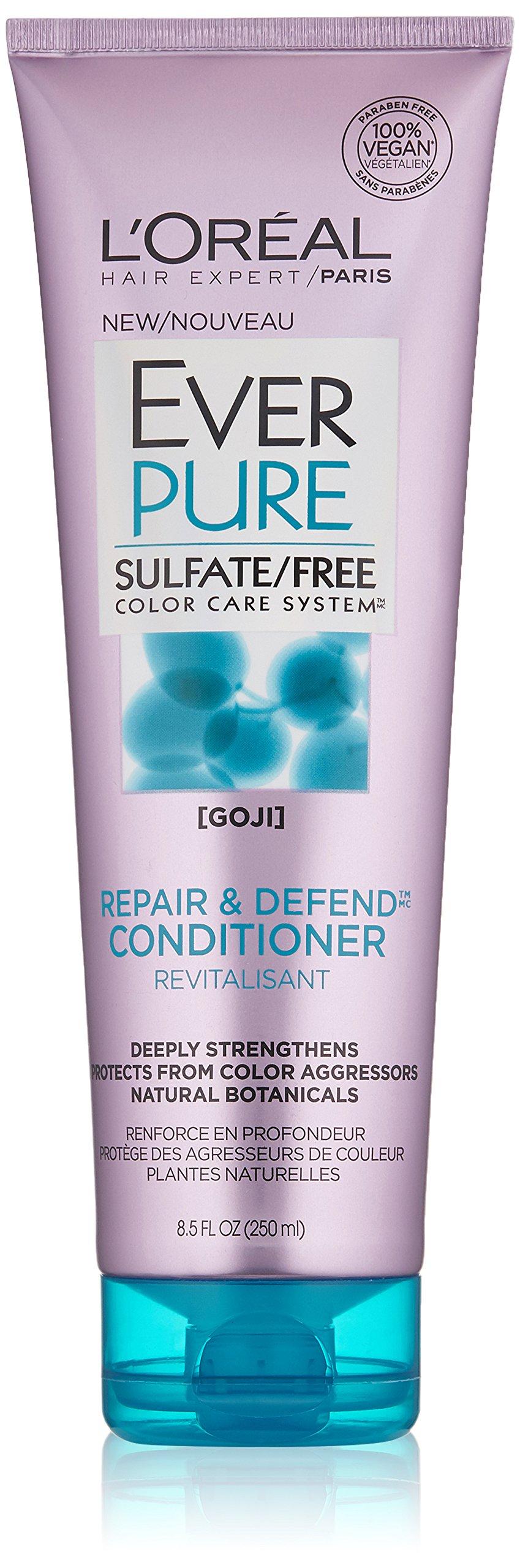 L'Oréal Paris EverPure Sulfate Free Repair and Defend Conditioner, 8.5 fl. oz.