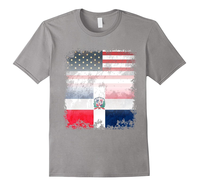 Original America Dominican Republic United Flag T-Shirt-Art
