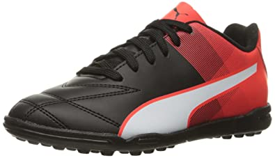 58a70e1b4018 Amazon.com | PUMA Adreno II TT JR Skate Shoe Black White/Red Blast ...