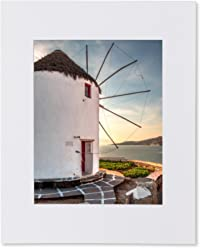 Matted Photo Print – Fits an 11X14in Frame – Mykonos, Greece